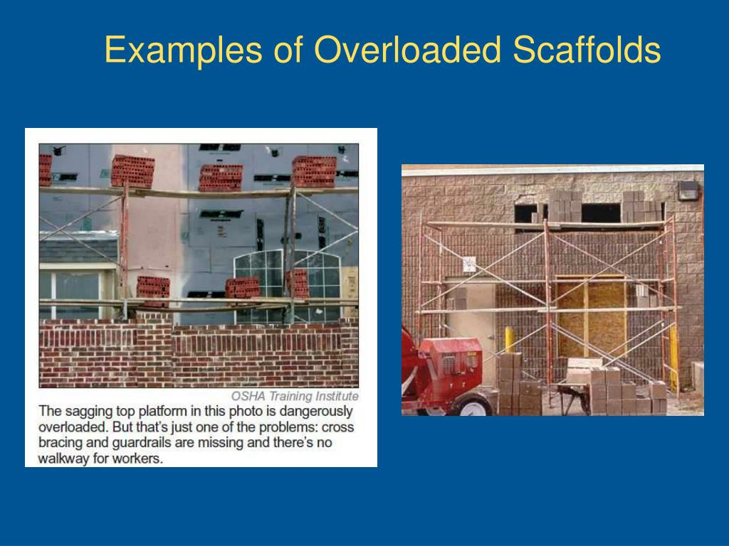 Examples of Overloaded Scaffolds