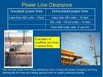 power line clearance