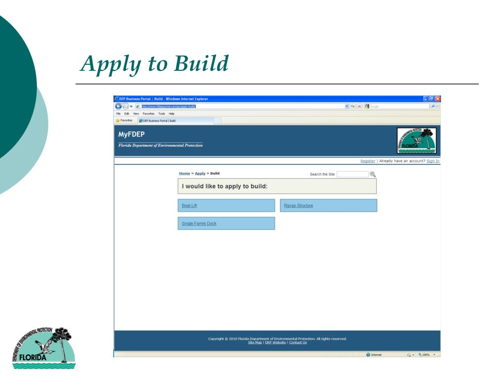 Apply to Build