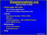disasterengineer org official site of ssg