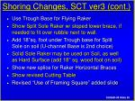 shoring changes sct ver3 cont20