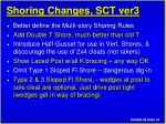 shoring changes sct ver3