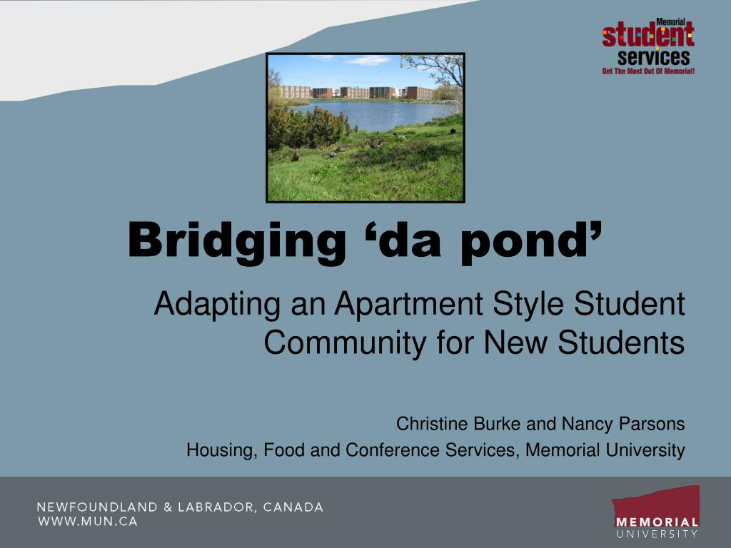 bridging da pond l.
