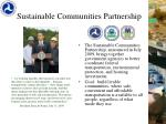 sustainable communities partnership