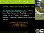 2 new land disturbance permit fee schedule62