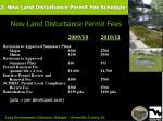 2 new land disturbance permit fee schedule66