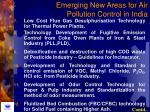 emerging new areas for air pollution control in india79