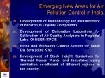 emerging new areas for air pollution control in india81