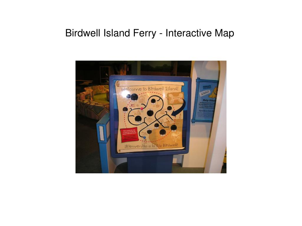 Birdwell Island Ferry - Interactive Map