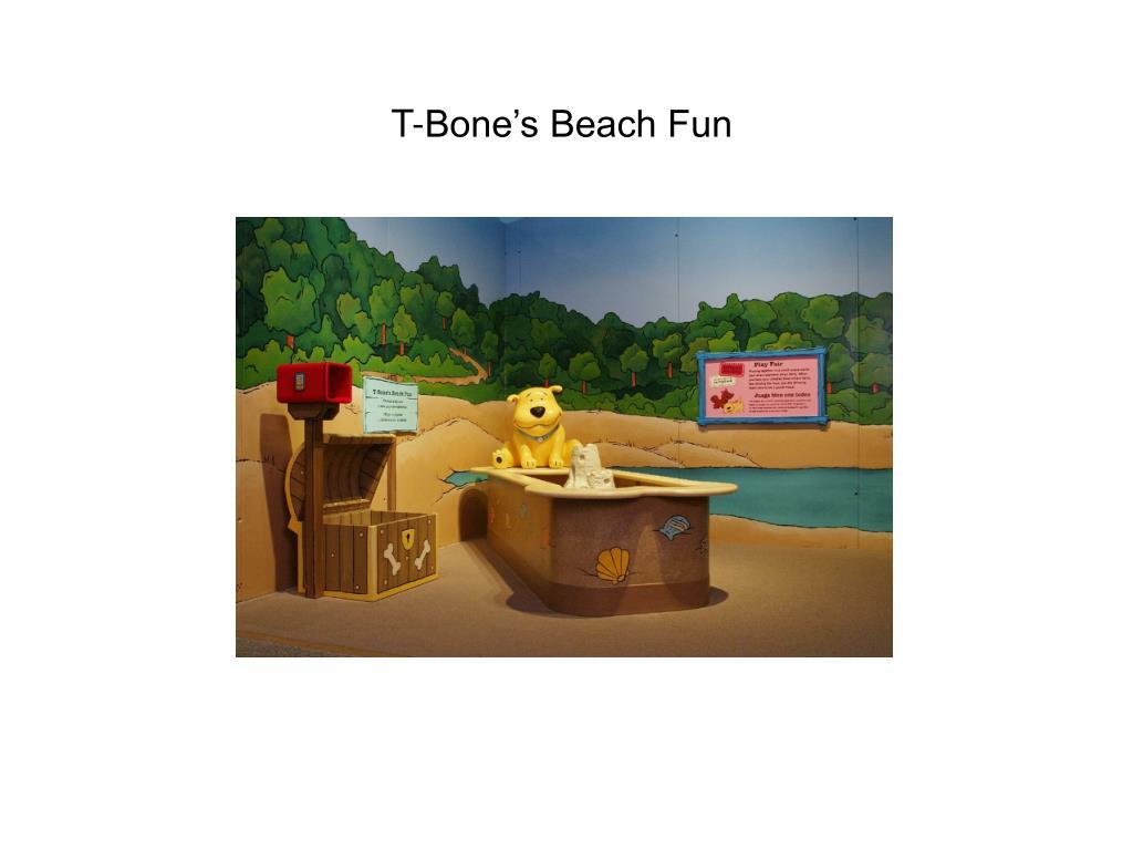 T-Bone's Beach Fun
