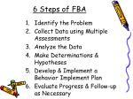 6 steps of fba39