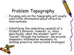 problem topography