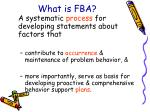 what is fba6