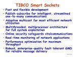 tibco smart sockets