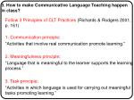 3 how to make communicative language teaching happen in class1