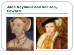 jane seymour and her son edward