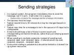 sending strategies