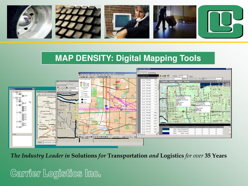 MAP DENSITY: Digital Mapping Tools