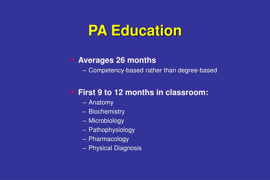 PA Education