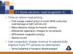2 1 some solutions road congestion 1
