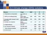 2 2 climate change ghg solutions