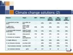climate change solutions 2