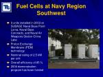 fuel cells at navy region southwest16