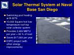 solar thermal system at naval base san diego