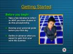 getting started5