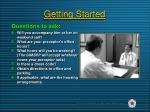 getting started9