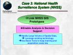 case 3 national health surveillance system nhss