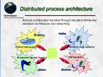 distributed process architecture