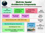 multi tier spatial architecture components