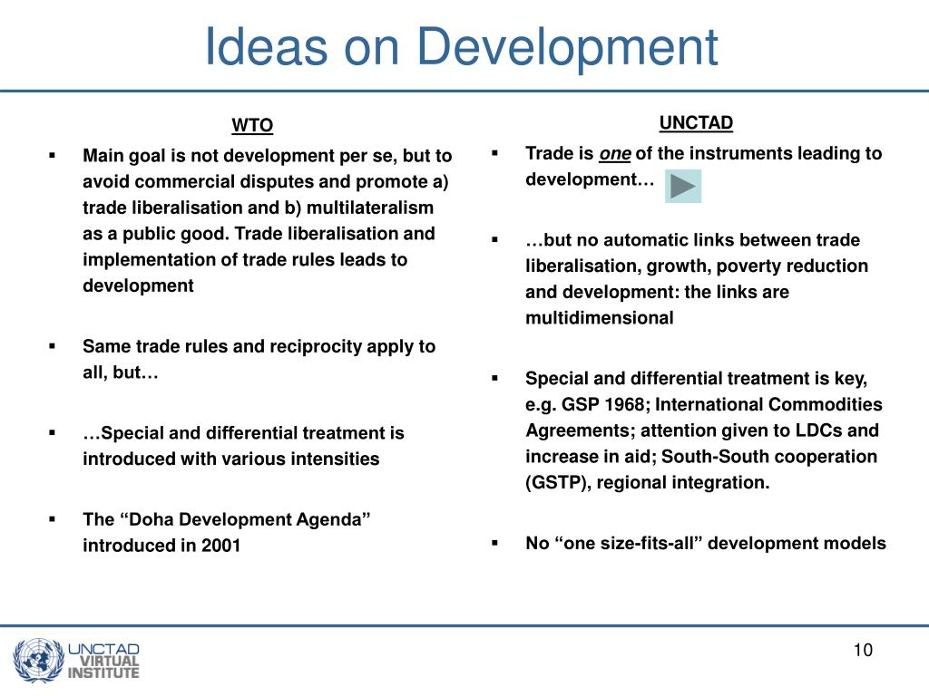 Ideas on Development