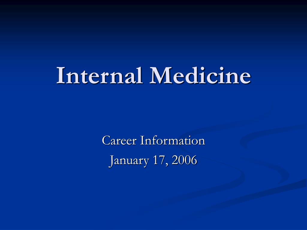 internal medicine l.