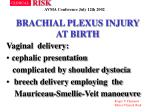 brachial plexus injury at birth6