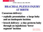 brachial plexus injury at birth8
