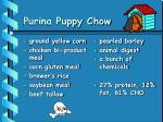 purina puppy chow
