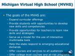 michigan virtual high school mvhs