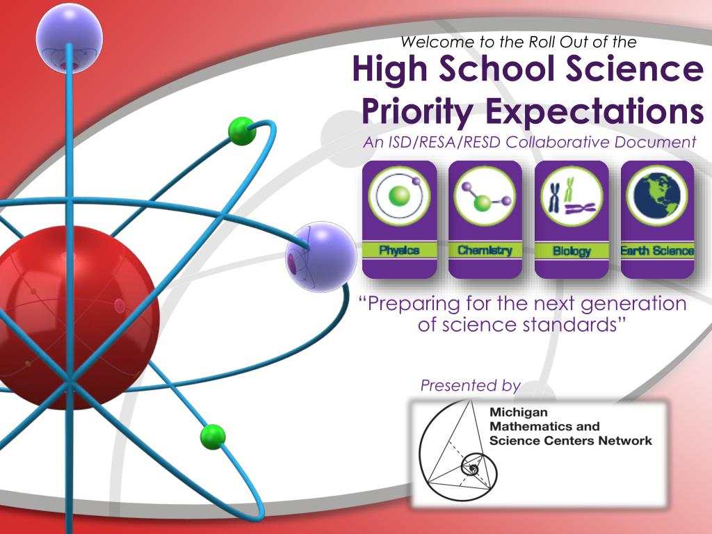 high school science priority expectations l.