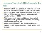 emissions taxes for ghgs primer by joe aldy1