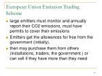 european union emission trading scheme