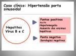caso cl nico hipertens o porta sinusoidal