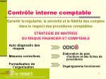 contr le interne comptable