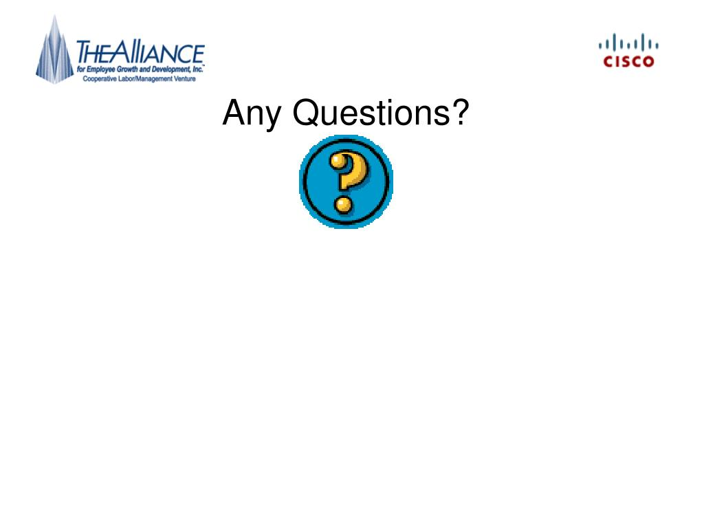 PPT - Any Questions? PowerPoint Presentation - ID:236282