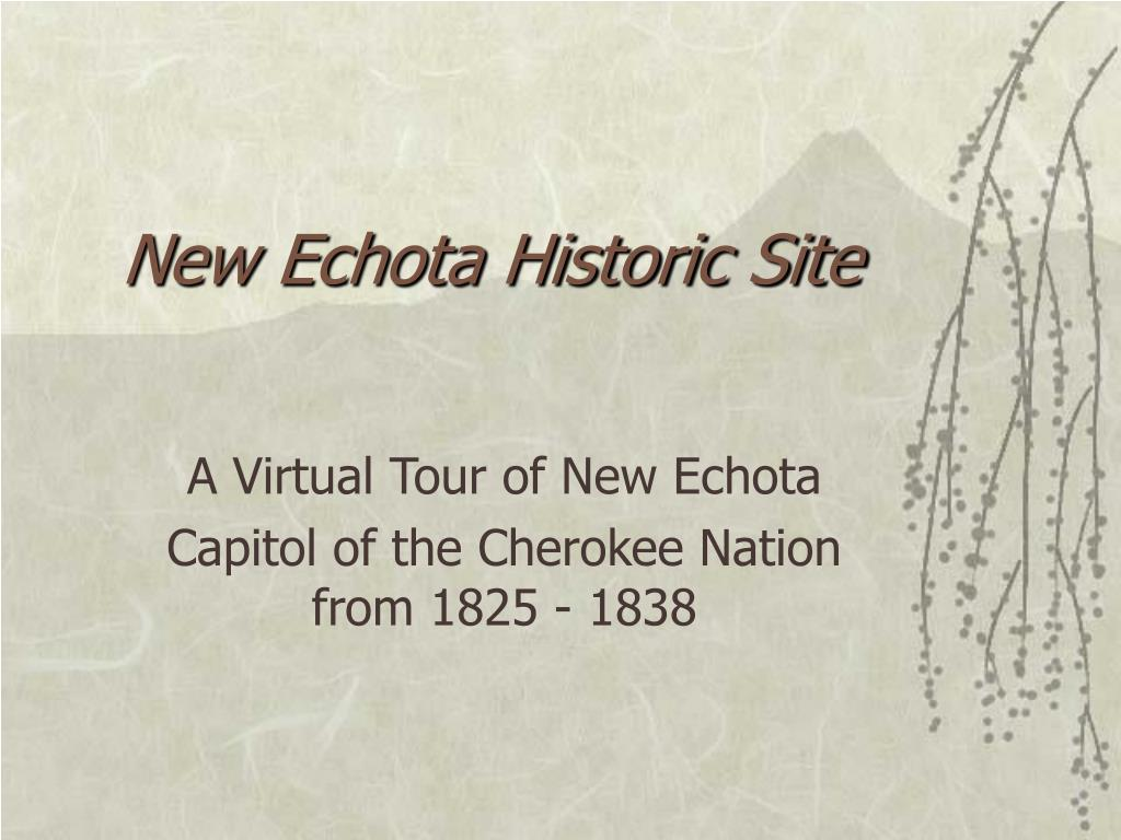 new echota historic site l.