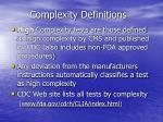 complexity definitions10