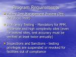 program requirements12