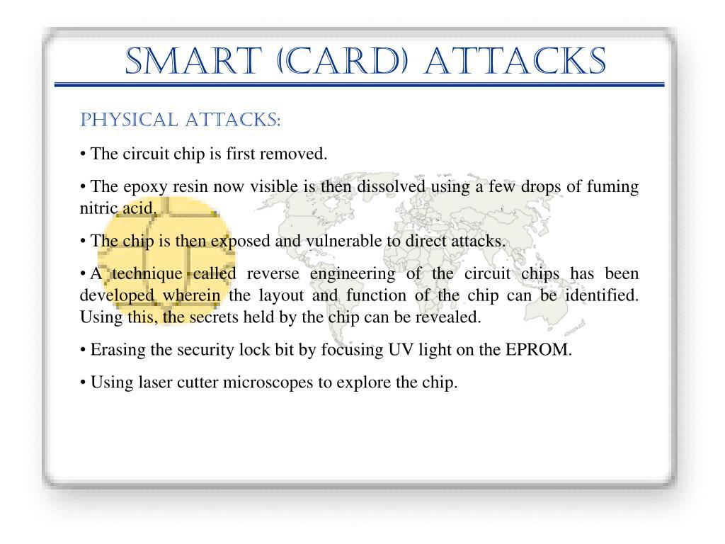 Smart (Card) Attacks