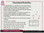 nonidentifiability